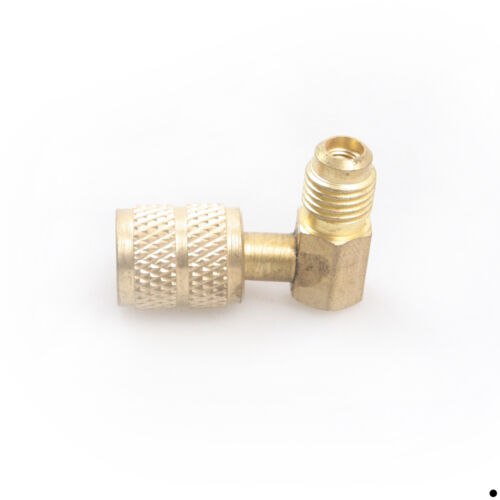 M1//4SAE to F5//16 Refrigeration Adapter Connector Adaptor For R410a Gauges Hose