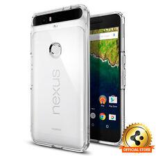 Google Nexus 6P Case Spigen® [Ultra Hybrid] Shockproof Case Clear Back TPU Cover