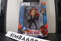 4 Metals Black Widow Die Cast Marvel Figures Civil War M48 Winter Soldier