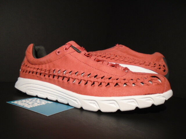 2016 NIKE MAYFLY WOVEN TERRA RED PINK BASE GREY SUMMIT WHITE 833132-600 NEW 11