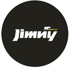 """For Jimny 16"""" Spare Wheel Cover Tire Covers Imitation Leather Black"""
