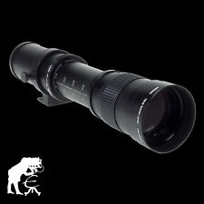 Dörr Zoom-Teleobjektiv 420-800mm/8,3 für MFT Olympus E-M10, E-M5, Panasonic G70