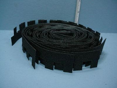 Miniature Asphalt Hex Shingles Brown #4004H 1//12th Scale