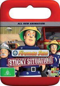 Fireman-Sam-Sticky-Situation-DVD-Brand-New-amp-Sealed