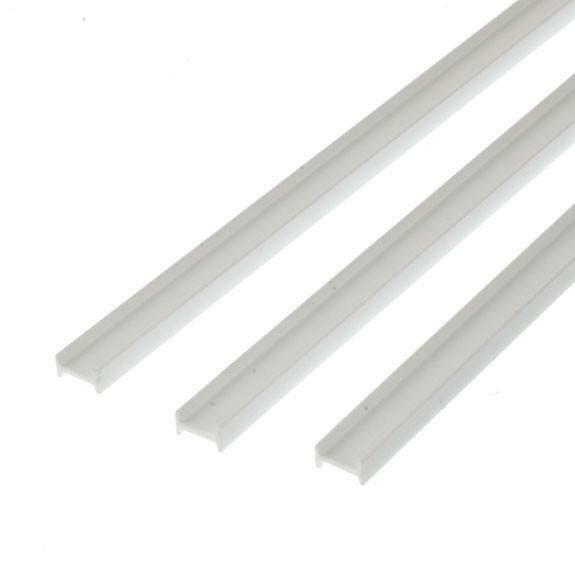 NEW Evergreen Scale Models #275 Polystyrene I Beams .125 x 14 in 3 Pk