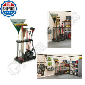 Cool Details About Rack Garage Tool Storage Organizer Garden Tower Holder Utility Yard Rubbermaid Gamerscity Chair Design For Home Gamerscityorg