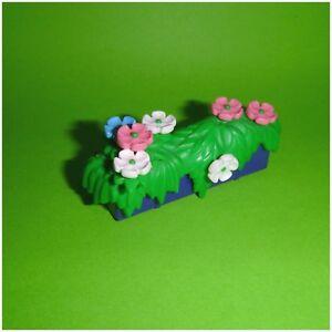 Playmobil-Blumen-Blumenkasten-mit-Blueten-System-X-aus-Wohnhaus-3965