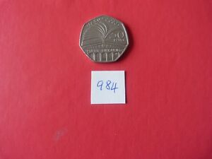 A 2000 circulated 50p CELEBRATING PUBLIC LIBRARIES - Bourne, United Kingdom - A 2000 circulated 50p CELEBRATING PUBLIC LIBRARIES - Bourne, United Kingdom