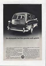 WOLFSBURG, Werbung 1960, VW Automatic Der Volkswagen Kfz Automobil Auto