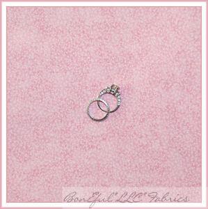 BonEful-Fabric-FQ-Baby-Light-Pastel-PINK-Calico-Leaf-Flower-Texture-Quilt-Cotton