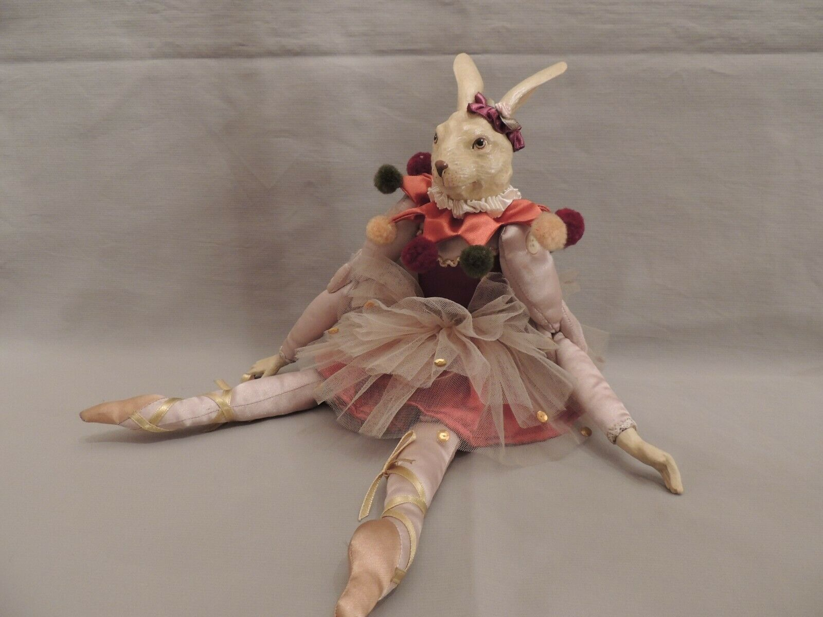 Katherine's Collection Wayne Kleski ballerina Doll hare 40cm Ed- Ta