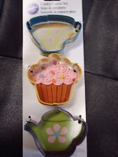 Alice in Wonderland Cookie Cutter Set by Wilton Products; BNIP Baby Shower decor