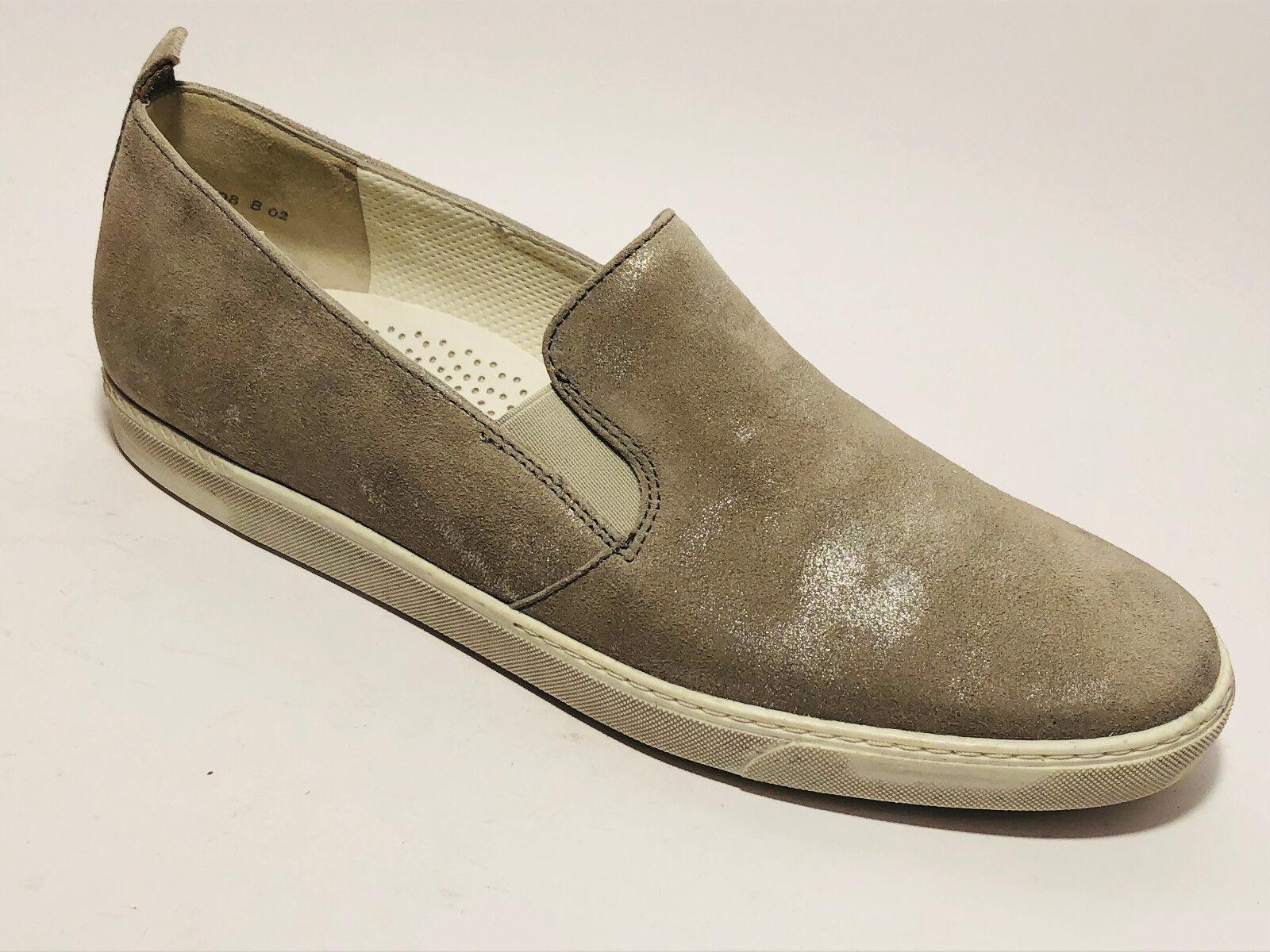 Paul vert Chaussures Tendance Cuir Pantoufles Taille 39 (UK 6) 6) 6) Antic Cuir Métallisé d6f45e