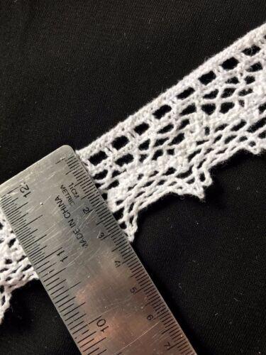 35mm Off White Cotton Crochet Venise Guipure Lace//Trim x 1m