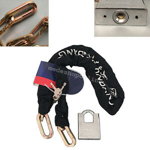 Heavy Chain Bike Boat Motorcycle Home Security Durable Chain Lock