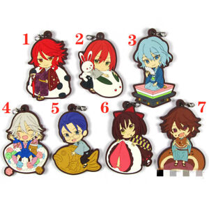 Anime Tokyo Ghoul  Acrylic Keychain Key Ring Race Straps Cosplay A