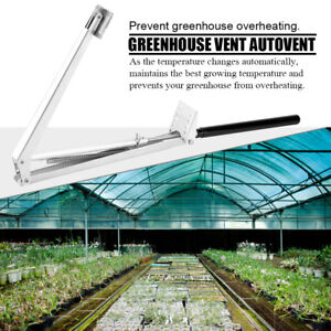 New Solar Heat Sensitive Automatic Window Opener Greenhouse Vent Autovent Hot ZY
