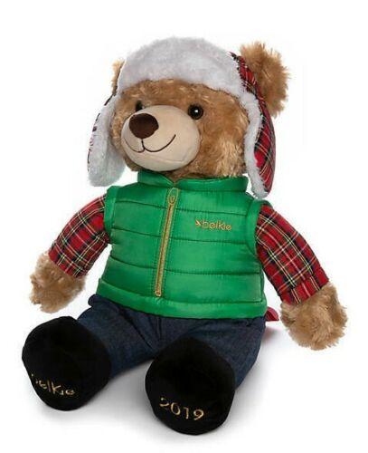Belkie Bear 2019 Christmas Teddy Bear Plush Doll Belk Department Store Fast Ship