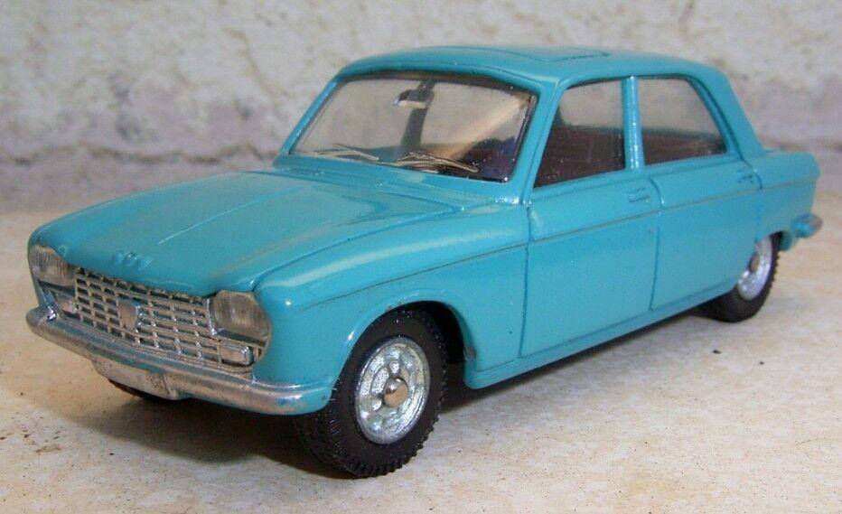 Peugeot 204 PILEN   1.43e métal  fabrication années 60