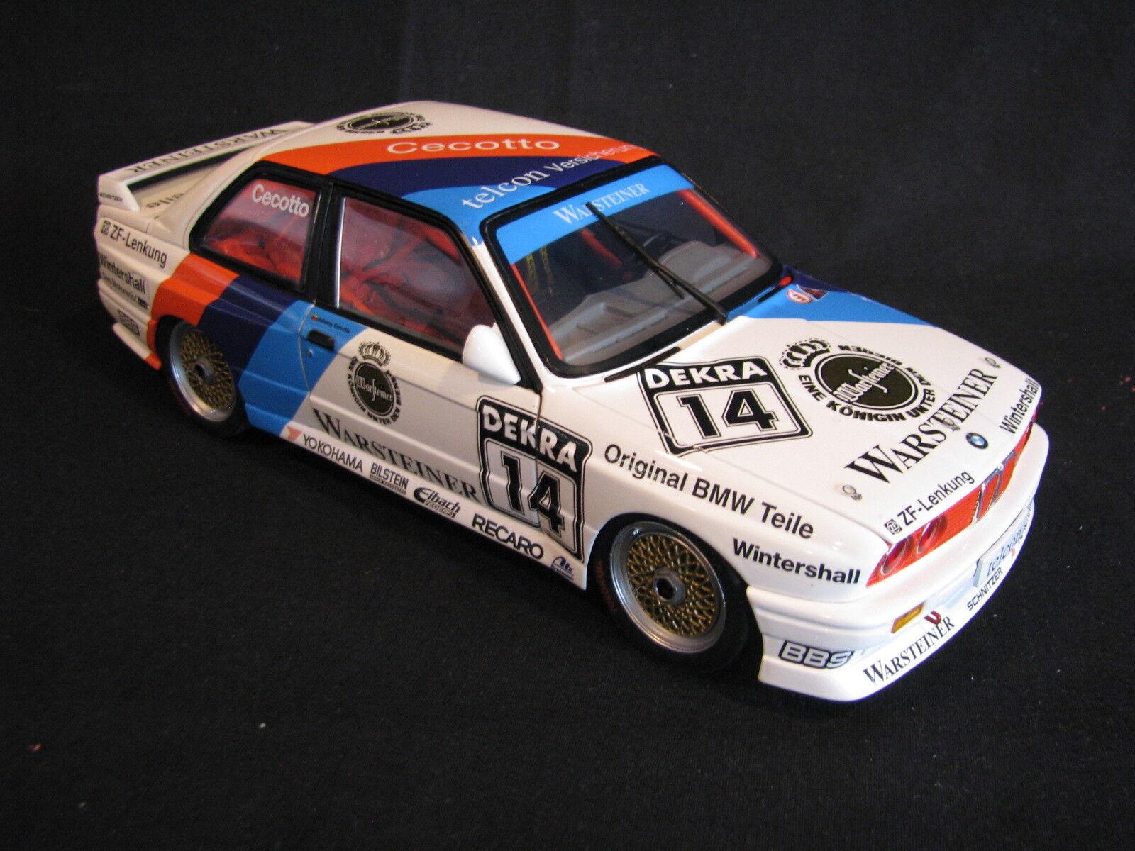 risparmia fino al 70% Minichamps BMW M3 Evo DTM 1989 1 1 1 18  1 Johnny Cecotto (VEN) (AK)  nuovi prodotti novità