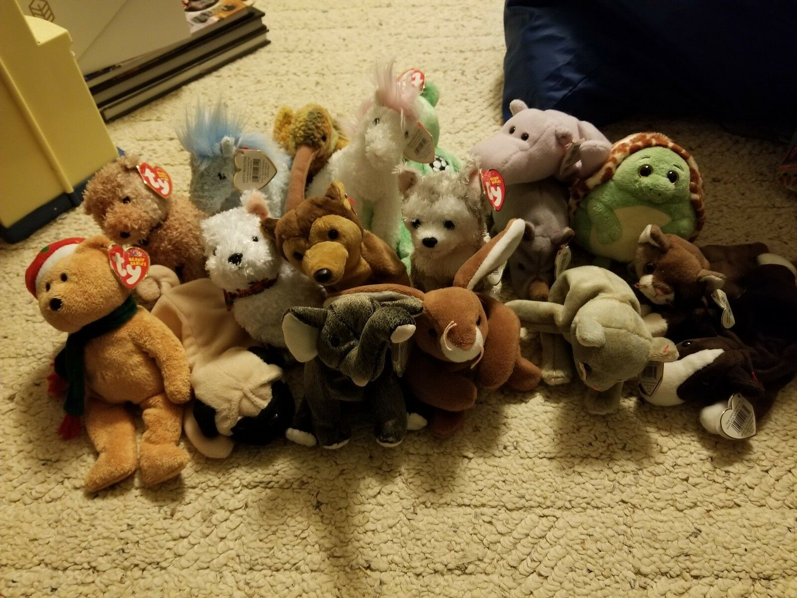 Lot of 18 new with tags beanie babies  Plus 3 without tags