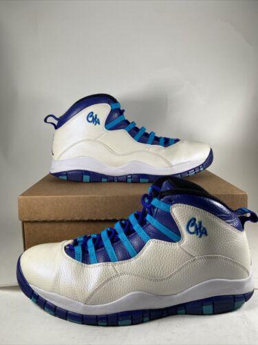 Nike Air Jordan Retro 10 Charlotte Hornets Blue La
