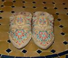 Moroccan shoes-Moroccan women house shoes-indoor Home Slippers-Babouche slippers