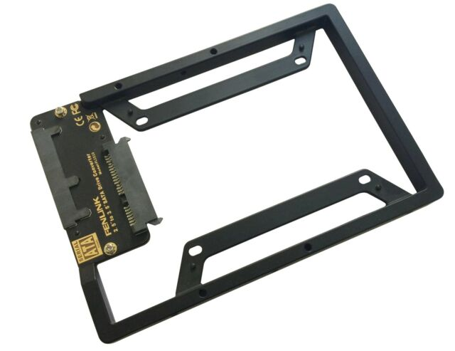 "SATA  2.5"" to 3.5"" SSD&HDD Hard Drive Converter Adapter bracket for Desktop NEW"