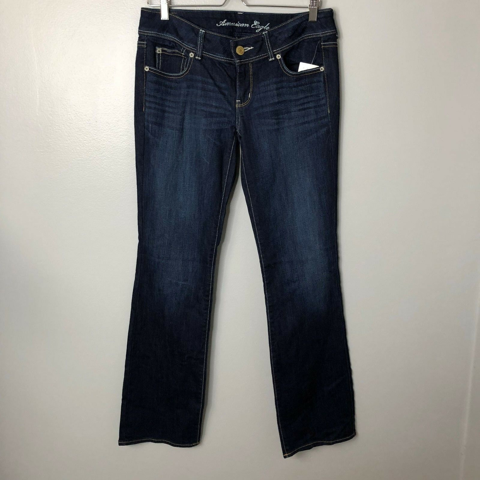 American Eagle Outfitters Slim Boot Cut Jeans Sz 8 Long NWT Denim Womens