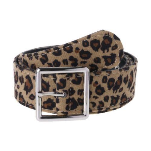 Leopard print Belt Woman Dress Strap Waist Belts Female Fashion Accessories r