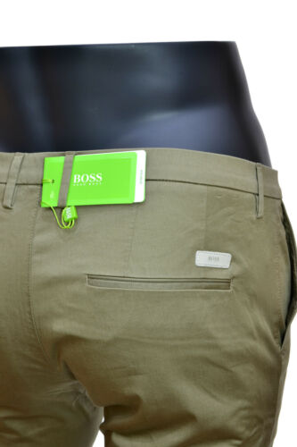 HUGO BOSS Pantaloni slim fit cotone elasticizzato /'C-Rice1-1-W/' by Boss Green