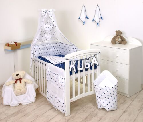 GREY ELEPHANT-YELLOW DOTS BABY BOY BEDDING SET COT or COT BED SIZE+MORE DESIGNS
