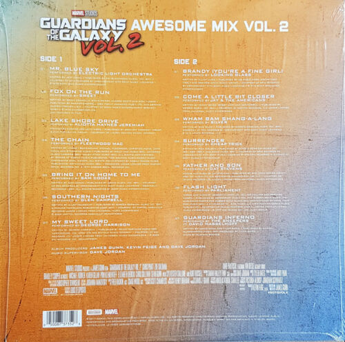 2 x Vinyl LP NEUF * Guardians of the Galaxy-Awesome Mix 1 /& 2-albums Bundle