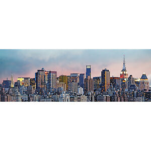 Details About Photo Wallpaper Panorama Wall Mural Manhattan Skyline New York City 50x144