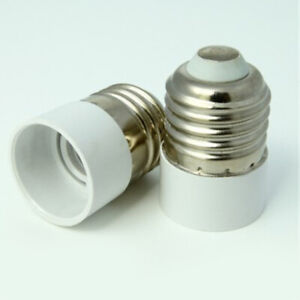 E27 To E14 Bulb Base Converter Light Socket Adaptor Extender Lamp Holder Sa E4s3 Ebay