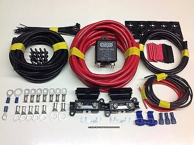 5 MTR Professional Split Charge Relay System with 100amp Heavy Duty Relay