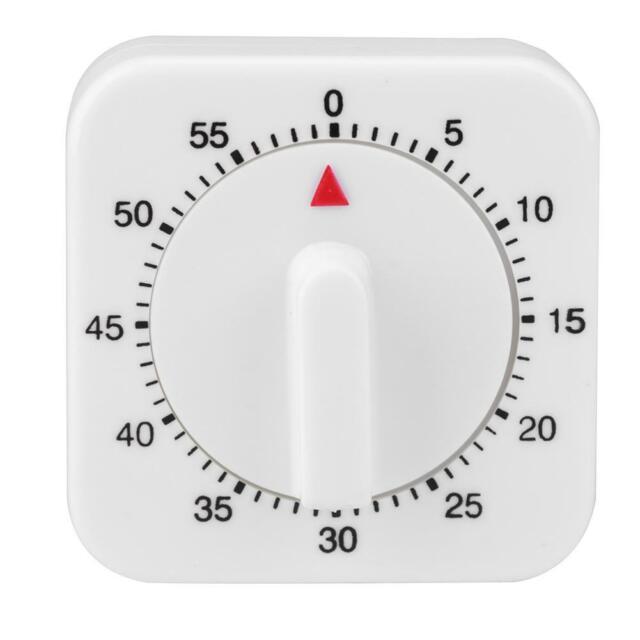 60 Minutes Kitchen Timer Count Down Alarm Cooking Reminder Mechanical Timer CC6