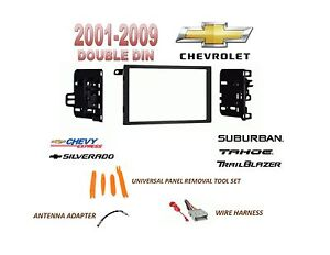Details about AI 2001-2012 CHEVY SILVERADO TAHOE SUBURBAN 2 DIN CAR on 2004 chevy silverado stereo wiring harness, 2003 chevy silverado stereo wiring harness, 2008 chevy silverado stereo wiring harness,