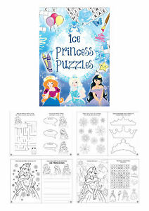 6 Mermaid Puzzle Activity Books Pinata Toy Loot//Party Bag Fillers Wedding//Kids