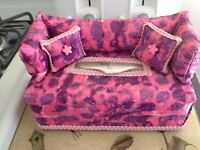Pink Purple Lavender Tie Dye Fabric Couch Sofa Tissue Box Cover Unique Brand