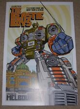 THE BEASTIE BOYS concert gig poster MELBOURNE 2-2-05 2005 Tour rhys cooper