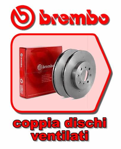KIT DISCHI FRENO BREMBO Ø257MM ANT FIAT DOBLO 1.6 16V 103CV ANNO 2001