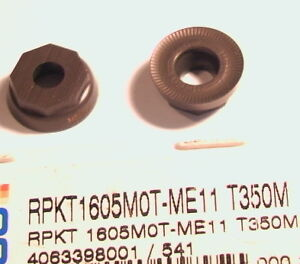 RPKT 1605M0T-ME11 T250M SECO INSERTS
