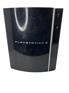 PS3 Sony Playstation 3 Fat Console CECHH01 80GB Clean with power cord for parts