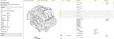 Porsche 986 Boxster 25 Liter Engine Motor Low Miles 1997 1998 1999