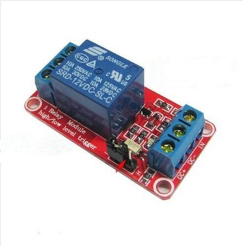 12V Relay Module 1 Channel With High//Low Level Trigger /& Optoisolator B BHQ