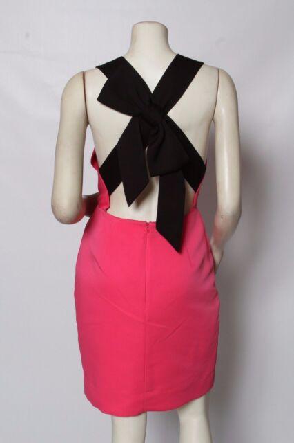 Kate Spade Pink Bow Back Blaze A Trail Nordstrom Dress Size 8