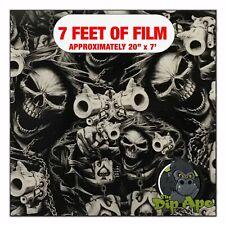 Hydrographic Film Street Life Skulls Hydro Dip Dipping 7 X 20