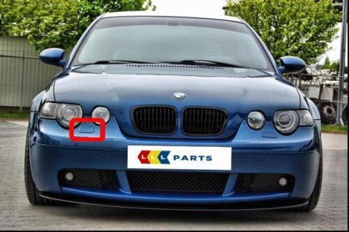 BMW E46 Compact Front M Sport Droit Phare Rondelle couvercle peint par votre couleur