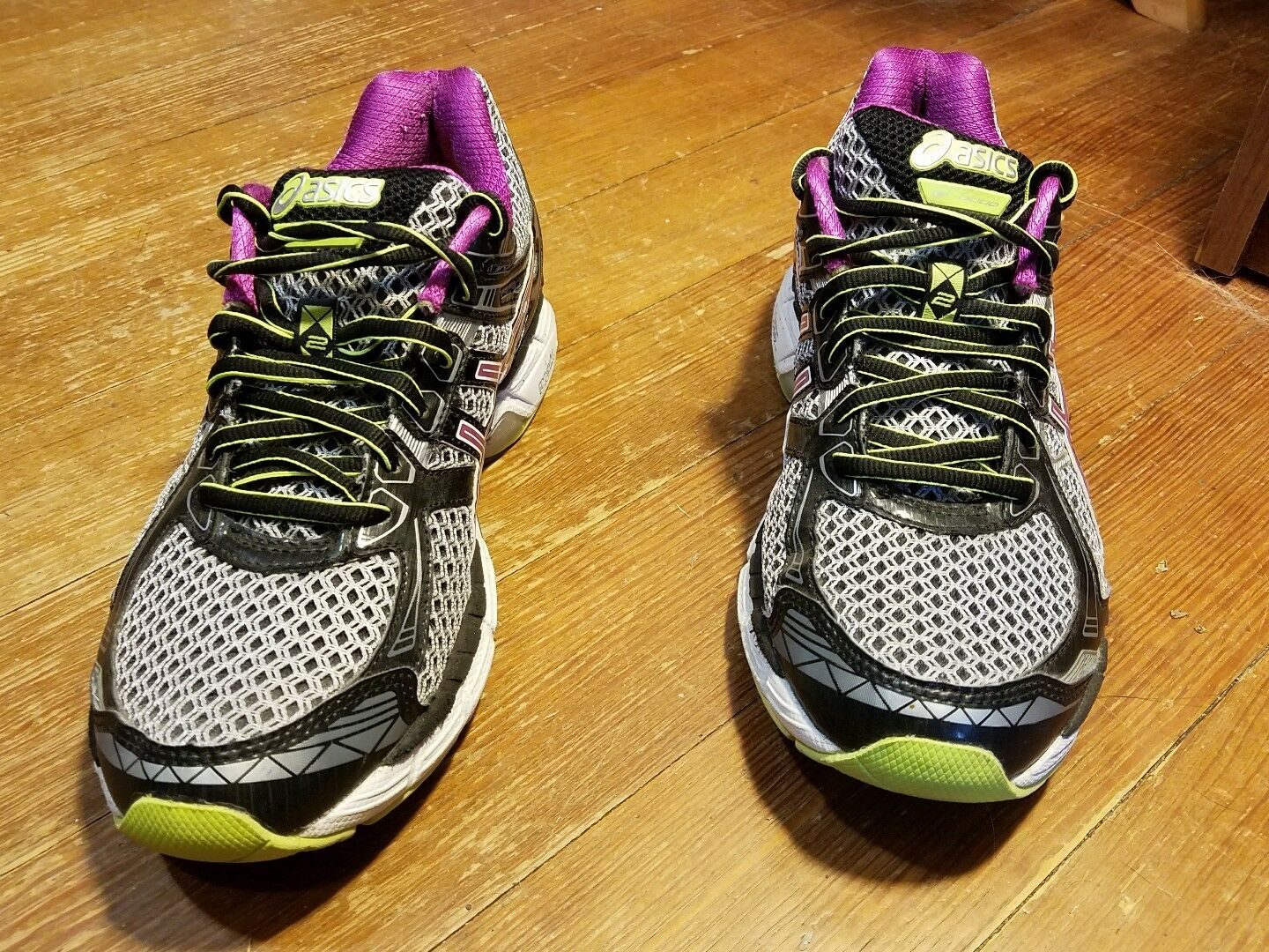 Asics Womens T3P8N GT-2000 2 Mesh Athletic Running Cross-Training Shoes Size 8